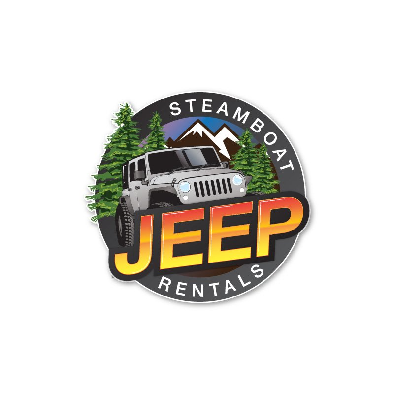 hive 180 logo development steamboat colorado jeep rentals - Branding Development