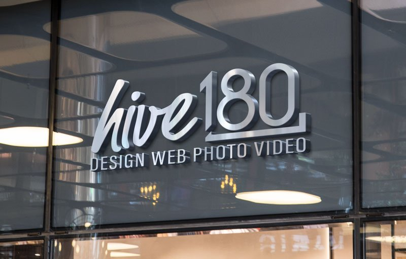 hive 180 logo window - Branding Development