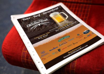 newspaper backpage ad oktoberwest 400x284 - Graphic Design