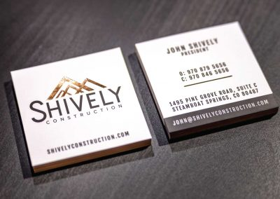 shively business cards 400x284 - Graphic Design
