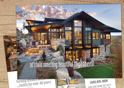 shively constrction sell sheet flyer 400x284 - Graphic Design