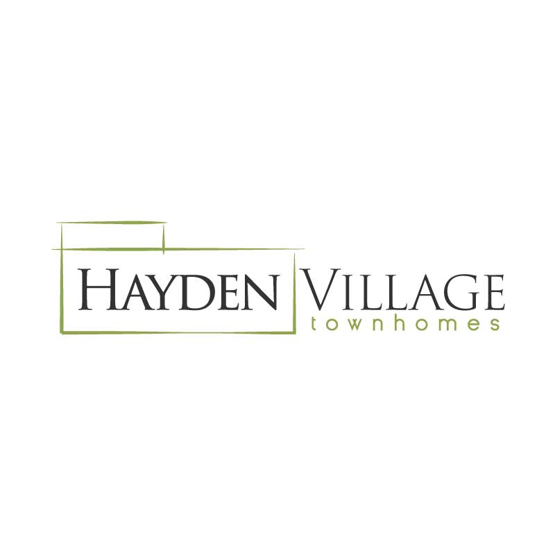 hive 180 logo development steamboat colorado hayden village townhomes - Branding Development