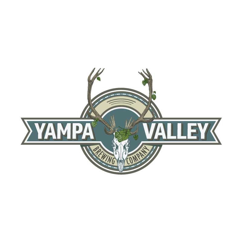 hive 180 logo development steamboat colorado yampa valley brewing company - Branding Development